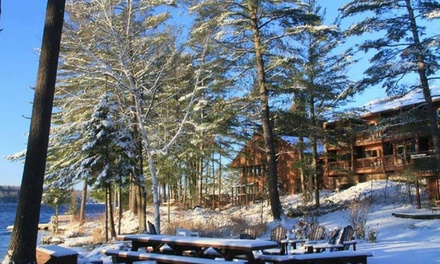 1- or 2-Night Stay for Two in a Forest- or Lake-View Lodge Room with Optional Breakfast at Westwind Inn in Buckhorn, ON