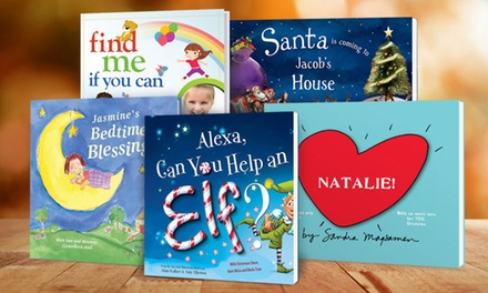 Personalized Holiday Children's Books from Put Me In The Story (35% Off)