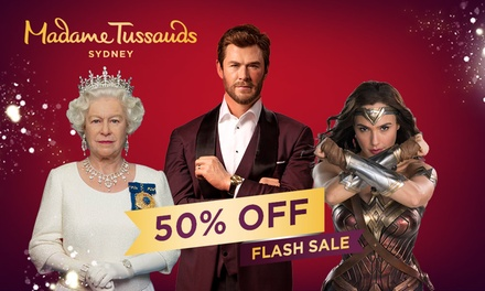 Madame Tussauds: Child ($15.50) or Adult ($22) Entry (Up to $44 Value) - Valid till 31st May 2021