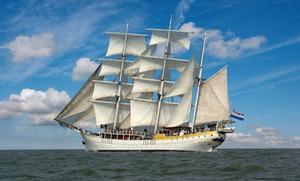 Stedemaeght Sailing Charters: Zeiltocht op De Stedemaeght van Lelystad naar Hoorn of Volendam en terug voor 1 of 2 personen