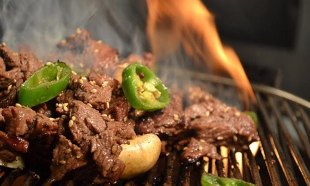 $29 for $40 Value Towards Korean Barbecue at Honey Pig Korean BBQ