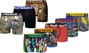 Pack 3, 5, ou 12 Boxers Freegun