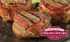 Up to 72% Off Steak Packages from Omaha Steaks