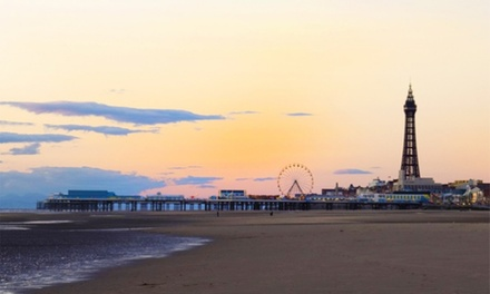 Blackpool: 2 to 5 Nights for Two Adults or Two Adults and Two Children with Breakfast at Llanryan Guest House