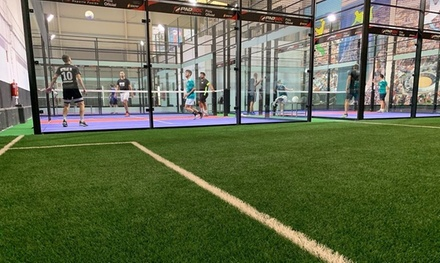 1 o 3 alquileres de 1h de padbol indoor para 4 personas (2 contra 2) desde 9,95 € en Padbol Campo Gibraltar
