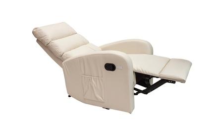 """Massage-Sessel """"Comodoro"""" in Schwarz, Schokolade oder Creme (Duesseldorf)"""