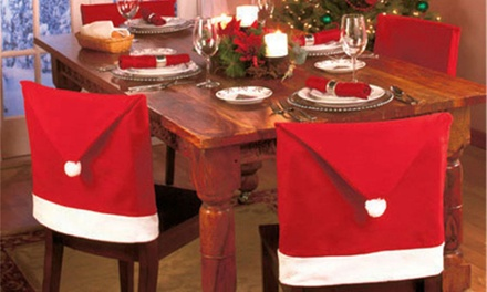 $15 for a Six-Piece Christmas Chair Cover Set