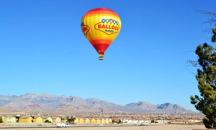 Sunrise Hot-air Balloon Ride for One or Two at Vegas Balloon Rides (Up to 51% Off)