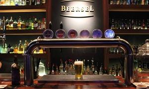 Beersel: Desde $129 por hamburguesa + papas + cerveza artesanal para uno, dos o cuatro en Beersel