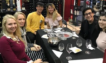 Cours d'œnologie et dégustation de vins avec charcuterie/fromage pour 1, 2 ou 4 personnes dès 29,90 € au Paris Divin
