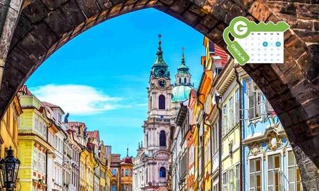Praga: habitación doble ejecutiva para 2 personas con desayuno, copa de vino o refresco en el Hotel Pure White 4*