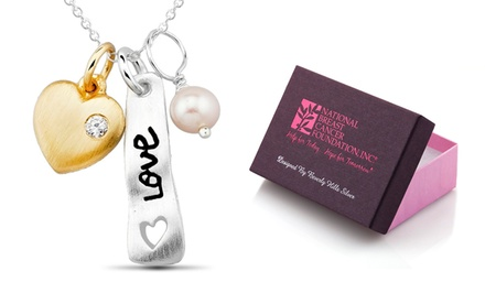 National Breast Cancer Foundation Necklaces. Multiple Styles Available.