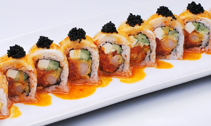 O2 Sushi - Lynnwood: Sushi and Japanese Food for Dinner at O2 Sushi (Up to Half Off). Two Options Available.
