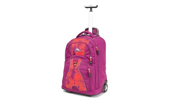 High Sierra Wheeled Backpacks