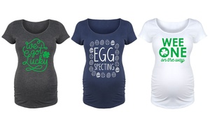 Women's Maternity Spring Holiday Tee