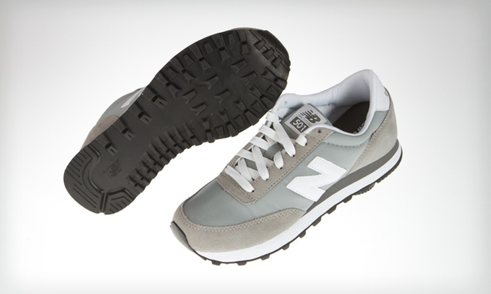 $39 for New Balance Women's 501 Sneakers in Gray ($54.95 List Price). Free Shipping. Multiple Sizes Available.