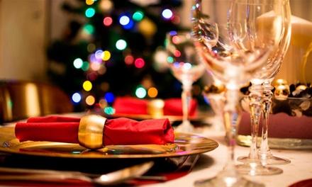 Menu completo del giorno, di Natale o di Capodanno con dolce e vino al ristorante Gaia di Montebelluna
