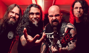 Slayer with Anthrax and Death Angel: Slayer with Anthrax and Death Angel on Saturday, September 10, at 7 p.m.