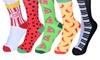 Three Pairs of Unisex Novelty Socks
