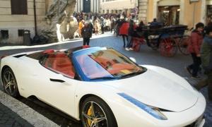 City Super Car: Esperienza di guida su strada con Ferrari, più aperitivo e volo in elicottero con City Super Car (sconto fino a 63%)