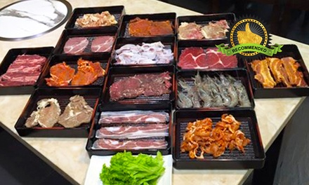$14 for a BBQ and Steamboat Buffet at Teng Sheng Korean BBQ & Steamboat Buffet (worth $20.10). More Options Available