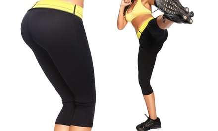 1 o 2 pantalones adelgazantes y modeladores efecto sauna