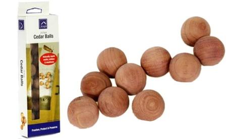 24 o 48 Bolas de cedro natural repelentes de polillas
