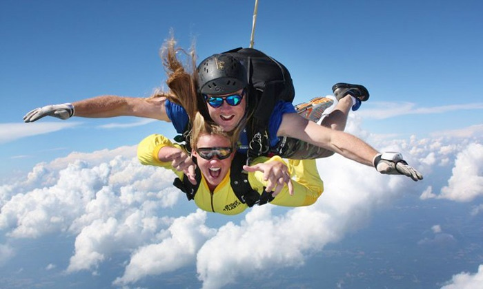 Skydive Georgia - Cedartown: One or Two Tandem-Skydiving Sessions from Skydive Georgia (Up to 47% Off)