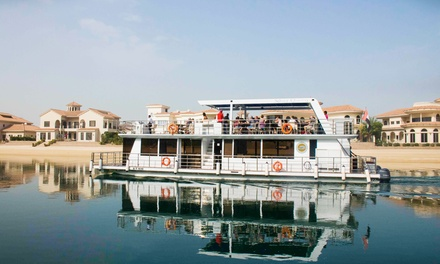 Up to 90 Minute Palm Jumeirah Tour for Up to Four from Silver Queen Yachts and Boats Rental (Up to 43% Off)