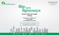 Grape and Malt Beverage Tasting for Up to Four at Westin Abu Dhabi with Spinneys (Up to 53% Off)