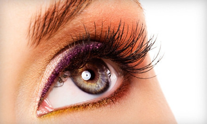 iCandy Eye Salon - Multiple Locations: Lash Perm and Tint, or Natural or Full Lash Extensions at iCandy Eye Salon (Up to 65% Off)