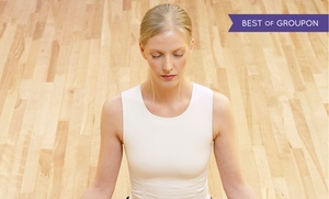 Bikram Yoga Reston: 5 or 10 Yoga Classes at Bikram Yoga Reston (Up to 68% Off)