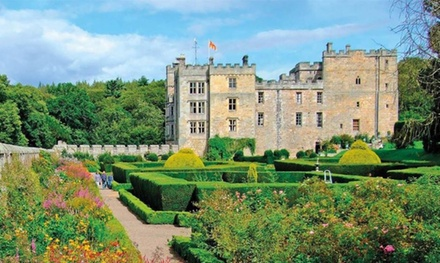 Chillingham Castle Entry for Two Adults or Family of Up to Five
