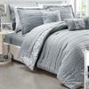 Monique Reversible Microfiber Comforter Set with Sheets (10-Piece)