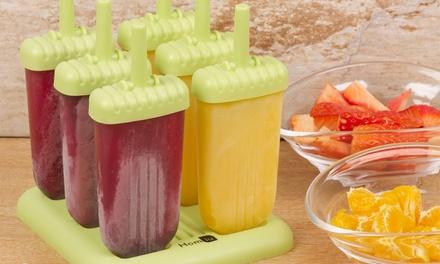 1 o 2 set di stampi per ghiaccioli Homiu, disponibili in vari colori e con accessori inclusi