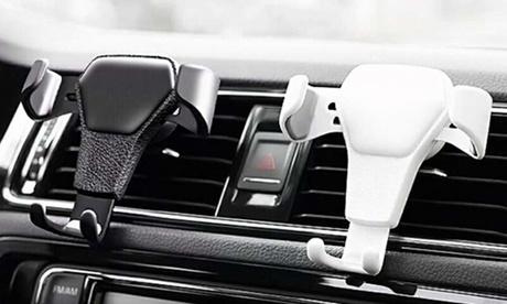 1 u 2 supports de téléphone pour la voiture, finition imitation cuir, livraison gratuite