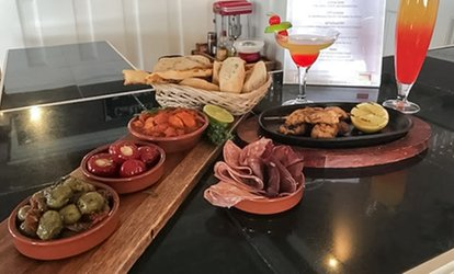 image for Two-Course Tapas Meal with Cocktail for One, Two or Four at The Great Tides (Up to 56% Off)