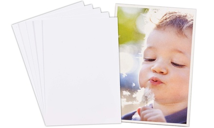 50 or 100 Sheets of Inkjet Gloss Photo Paper from £3.98