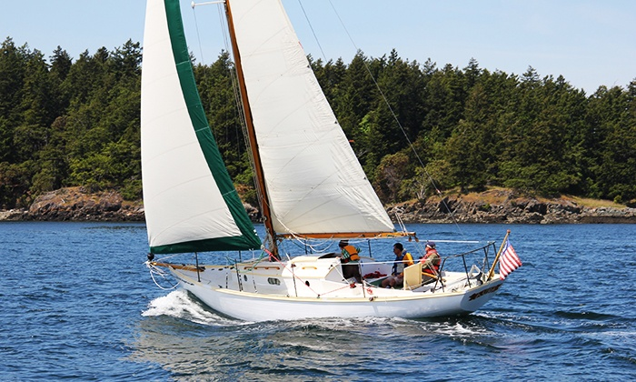 Northwest Classic Daysailing - Deer Harbor Marina: Private Sailing Trip from Northwest Classic Daysailing (Up to 58% Off). Two Options Available.