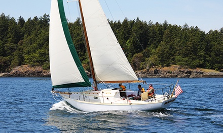 Private Sailing Trip from Northwest Classic Daysailing (Up to 58% Off). Two Options Available.