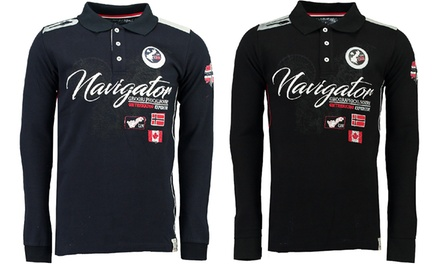 Polo Geographical Norway Kriminel à manches longues pour homme
