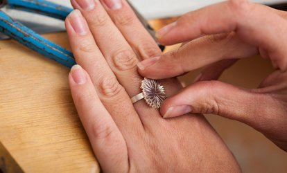 image for Silver Ring Making Course for One or Two at 24ct Limited (76% Off)