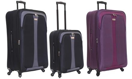 Slimbridge Andalucia Expandable Cabin Suitcase