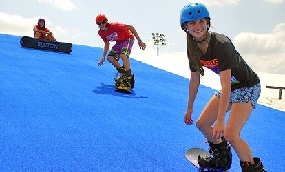 image for Half-Day Snow Tubing or <strong>Snowboarding</strong> Pass for One or Two at Texas Ski Ranch (Up to 53% Off)