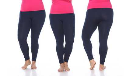 4fceda872 Shop Groupon Women s Super-Stretch Solid Leggings. Plus Sizes Available.