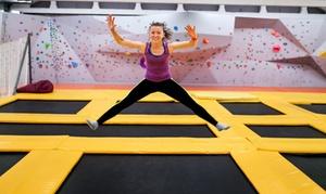 Jump'n Fly: 1x oder 2x 60 Min. Sprungzeit im Jump'n Fly Trampolinpark (bis zu 27% sparen*)