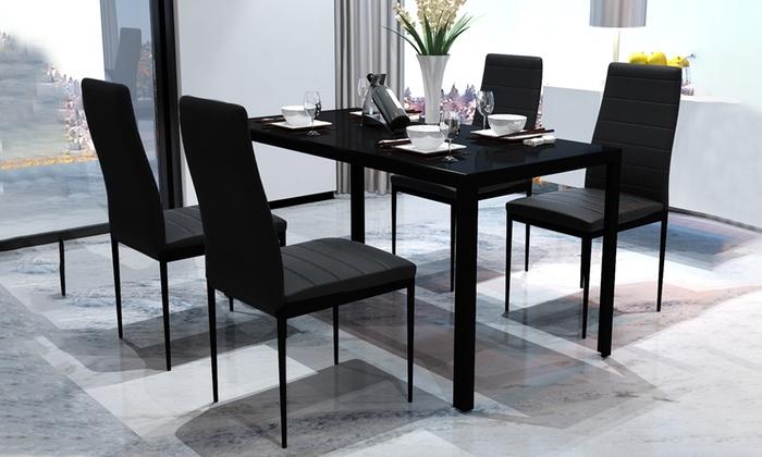 Welp Eettafel met stoelen | Groupon Goods LM-22
