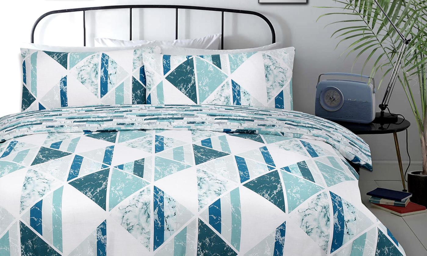 pieridae diamond marble duvet cover sets