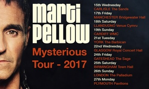 Marti Pellow: Marti Pellow: Mysterious, Price Band A Ticket, 15-27 March (Up to 36% Off)
