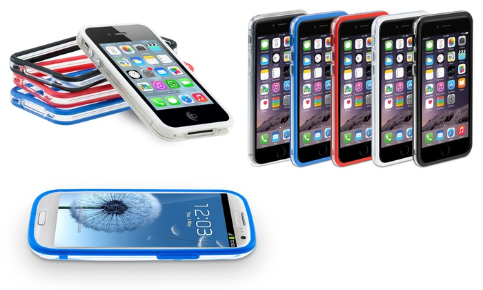 Bumper per iPhone o Samsung Galaxy